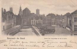 Gent, Gand, Quai Des Augustins Et De La Lière (pk17672) - Gent