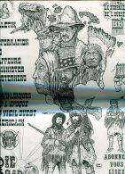 Magnifique Affichette 30x42 Cm Indianisme  Big Bear - Plakate & Offsets