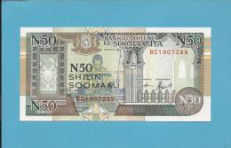 SOMALIA - 50 SHILIN - 1991 - Pick R2 - UNC.  - 2 Scans - Somalia