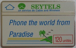 SEYCHELLES - L&G - Rare Reprint - 2nd Print - 011 Control - Mint - Seychellen