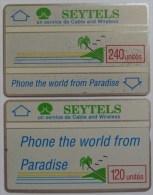 SEYCHELLES - D3 & D4 Specimen Pair - L&G - 1989 - RRR - Seychelles