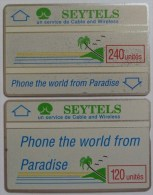 SEYCHELLES - D3 & D4 Specimen Pair - L&G - 1989 - RRR - Seychellen