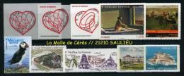 ADHESIFS PRO ! L'INTEGRALE 2012 / 10 Timbres Seulement !!! A Voir & A Avoir !!! - Frankreich