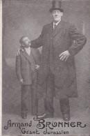 Géant Jurassien - Armand Bronner - 2,28 Mètres Né à Dole En 1890 - Non Classés