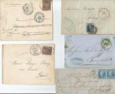 FRANCE  CARTE POSTALE  CIRCULER - Postmark Collection (Covers)