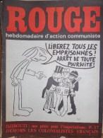 HEBDOMADAIRE ACTION COMMUNISTE- ROUGE- 13-02-1976- N� 335- DJIBOUTI UNE PROIE POUR L� IMPERIALISME