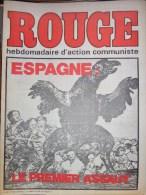 HEBDOMADAIRE ACTION COMMUNISTE- ROUGE-  23-01-1976- N� 332- ESPAGNE LE PREMIER ASSAUT