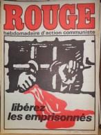 HEBDOMADAIRE ACTION COMMUNISTE- ROUGE-  9-01-1976- LIBEREZ LES EMPRISONNES- ANGOLA- RENAULT BILLANCOURT