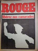 HEBDOMADAIRE ACTION COMMUNISTE- ROUGE-19-12-1975- N� 327- LIBEREZ NOS CAMARADES- EVREUX IMPRIMERIE FRERES OCCUPEE-LIBAN