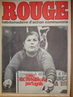 HEBDOMADAIRE ACTION COMMUNISTE- ROUGE-29-11-1975- N� 324- PORTUGAL - VIET NAM