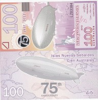 New Jason Islands - 100 Australes 2012 UNC Ukr-OP - Banknotes