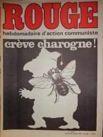 HEBDOMADAIRE ACTION COMMUNISTE- ROUGE-24-10-1975- N�319- CREVE CHAROGNE- ESPAGNE NI FRANCO NI REY-