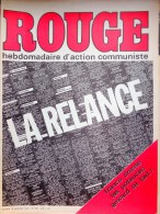 HEBDOMADAIRE ACTION COMMUNISTE- ROUGE-12-9-1975- N� 313- ESPAGNE FRANCO - GISCARD SE TAIT -PORTUGAL -ANGOLA