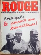 HEBDOMADAIRE ACTION COMMUNISTE- ROUGE- 18 -7-1975- N� 309- PORTUGAL LE POUVOIR AUX TRAVAILLEURS-CAP VERT