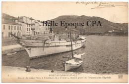 66 - PORT-VENDRES - Bassin Du Vieux Port - Le FAUNE, Ancien Yacht De L'Impératrice Eugénie ++++ ND Phot., #8 ++++ RARE - Port Vendres