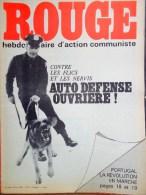 HEBDOMADAIRE ACTION COMMUNISTE- ROUGE- 20-6-1975- N� 305- PORTUGAL LA REVOLUTION- SPECIAL POLICE FLIC