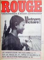 HEBDOMADAIRE ACTION COMMUNISTE- ROUGE-2-5-1975- N� 298- VIETNAM- PORTUGAL- LIP TEPPAZ ET SOLAMEA- INDOCHINE