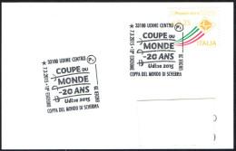 FENCING - ITALIA UDINE 2015 - 10^ COPPA DEL MONDO DI SCHERMA UNDER 20 - SMALL SIZE CARD - Scherma