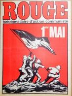 HEBDOMADAIRE ACTION COMMUNISTE- ROUGE-25-4-1975- N� 297- 1ER MAI - LIBAN- DOSSIER PORTUGAL-VIETNAM