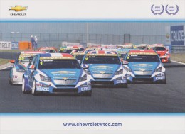 """CHEVROLET """" Y.MULLER , A.MENU ... WTCC 2010 Et 2011 """" - Automobile - F1"""