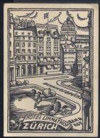 RA29 ZURICH - HOTEL LIMMATHOF ( PUBBLICITA CON PREZZI AL RETRO ) - ZH Zurich