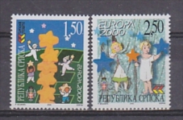 Europa Cept 2000 Bosnia/Herzegovina Serbia 2v  ** Mnh (21579A) - Europa-CEPT