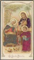 Santino - Holy Card - Gesù - Sacra Famiglia - Images Religieuses
