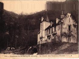 ENVIRONS DE BESANCON ,LE CHALET  DES SOURCES D'ACIER REF 43396 - Other Municipalities