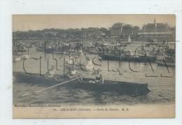 Arcachon (33) : .GP D'une Barque D'aviron Dans Le Bassin Lors Des Fêtes En 1920 (animé) PF - Arcachon