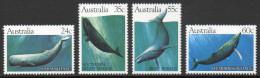 Australie - 763/66 ** Baleines Australes (whales) - Antarctic Wildlife
