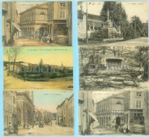 DARNEY / LOT DE 6 CARTES / Colorisée Toilée Couleur ... Toutes De 1918 - Darney