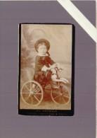 Photographe  Ch.Pernelle Belfort, Montbeliard, Vesoul  - Enfant Sur  Cheval De Bois Tricycle - Jouet - Photos