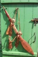 Sabre Africain Très Décoratif - Longueur Totale : 73,50 Cm - Knives/Swords