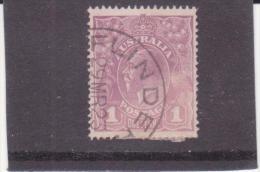 1913 Australia 1d Violet, Used (o) SG #57 - Usati