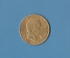 10 FRS OR DE 1862 NAPOLEON III TETE LAUREE - K. 10 Francs