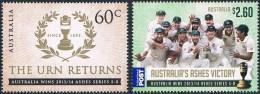 Australie - Cricket. Victoire De L'équipe Australienne Au Prix Ashes 3919/3920 ** - Cricket