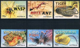 Australie - Animaux Piquants 4031/4036 ** - Timbres