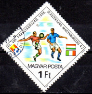 HUNGARY 1982 World Cup Football Championship, Spain -  1fo. - Italy V. Hungary, 1938  FU - Used Stamps