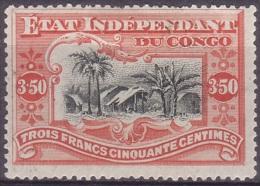[92] Congo belge 27 * 3,50f vermillon Cote 175 �