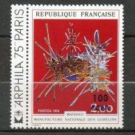 CFA  Oeuvre De Mathieu 1974  N° 427 - Réunion (1852-1975)
