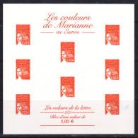 FRANCE ESSAI LES COULEURS DE MARIANNE ORANGE NEUF - 1997-04 Marianne Of July 14th