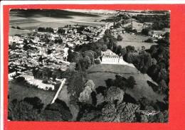 27 LA CROIX SAINT LEUFROY Cpsm Vue Aérienne Du Chateau  2 Gaby - Frankreich