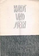 Kunst Und Stein 1957  2. Jarhgang Nr. 3 20 Pages - Peinture & Sculpture