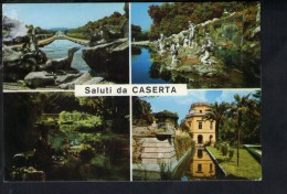 J2089 SALUTI DA CASERTA, VEDUTE DELLA REGGIA - USED 1974 - FOTOEDIZ. BRUNNER E CO. N° 960 015 FOTOCOLOR - Caserta