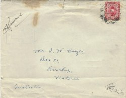Egypt 1940 FPO 171 Army Post Military Censored Cover To Australia - Egypte