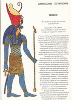 "CPM ASTROLOGIE EGYPTIENNE ""HORUS""  CARTAX 1990  (ALINE) - Astrology"
