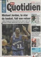 MON QUOTIDIEN 30 10 2011 - BASKET MICHAEL JORDAN - HALLOWEEN - ZOO AMNEVILLE - INONDATIONS VIETNAM - MANGA GUNDAM WING - Journaux - Quotidiens