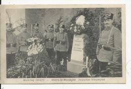 Villers La Montagne  Weltkrieg 1914-15     Carte No101 - Autres Communes