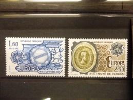 THEMA EUROPA FRANKRIJK 2207/2208 Xx ( YVERT ) COTE : 2.75 EURO ( E ) - Europa-CEPT