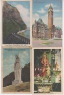 10 X AK Canada Kanada Quebec Toronto Rockies Lot Sammlung - Cartes Postales